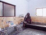 千葉県 岩井 御目井戸荘の浴室