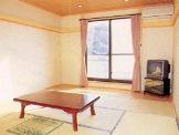 千葉県 岩井 かわな館の和室