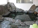 山梨県 河口湖 大木山の温泉浴室