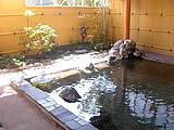 山梨県 河口湖 大木山の露天風呂