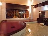 山梨県 河口湖 足和田ホテルの浴場