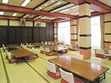 山梨県 鳴沢村 リゾートイン吉野荘の食堂