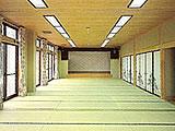 山梨県 忍野 オサキビレッジの大広間54畳