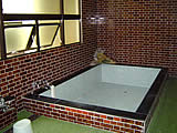 山梨県 山中湖 グリーンロッヂ山中湖の浴室