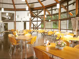 長野県 軽井沢 文化軽井沢山荘の食堂